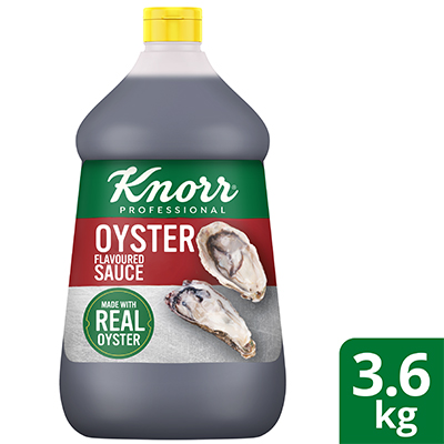 Knorr Oyster Flavoured Sauce 3.6kg - Knorr Oyster Flavoured Sauce delivers the authentic umami taste for Asian stir-fried dishes