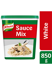 Knorr White Sauce 850g - Made with real, quality ingredients, Knorr White Sauce Mix can be created in just 5 minutes