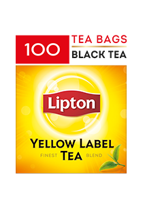 Lipton Yellow Label Tea 100 x 2g - Give them a rich new blend of black tea from Lipton