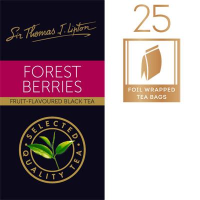 Sir Thomas Lipton Forest Berries 25 x 2g