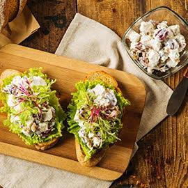 Chicken, Grape, and Walnut Salad