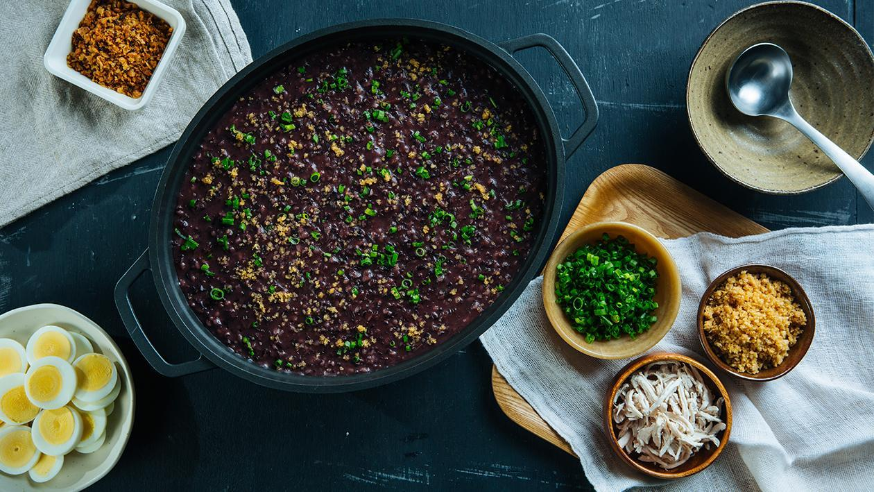 Black Rice Arroz Caldo