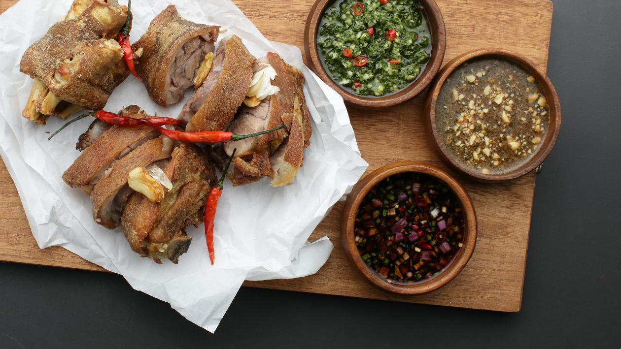 Crispy Pata Three Ways