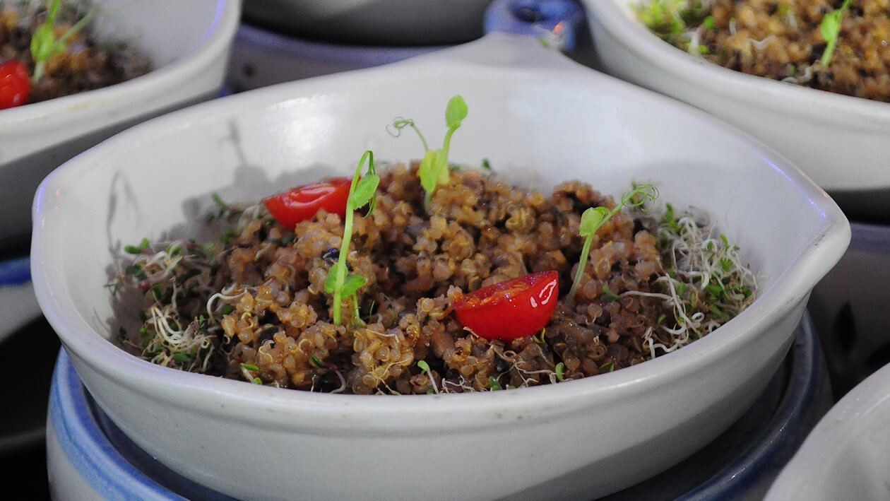 Funlasang Pinoy Twistfest 2018 Luzon Winner: Toasted Quinoa Vegan Sisig