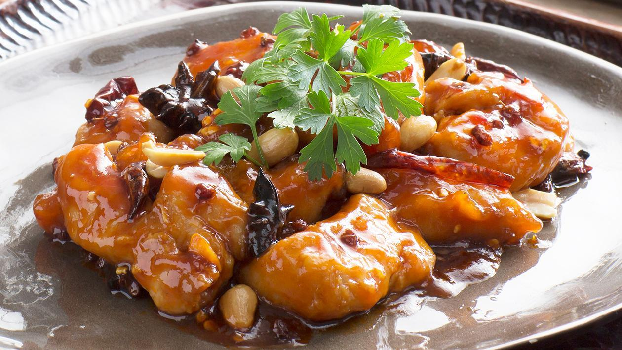 Hot and Spicy Honey Sauce Chicken