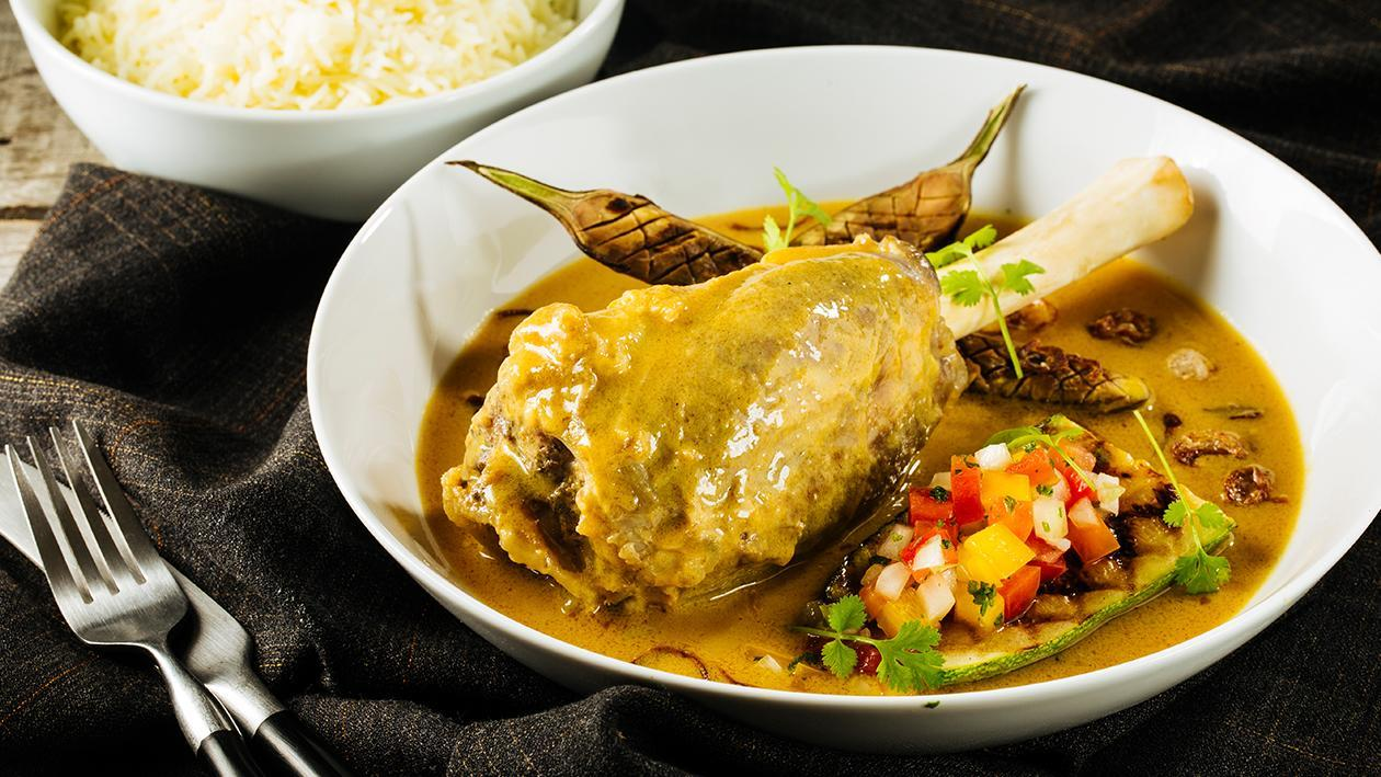 Lamb Stew in Spicy Tamarind Sauce