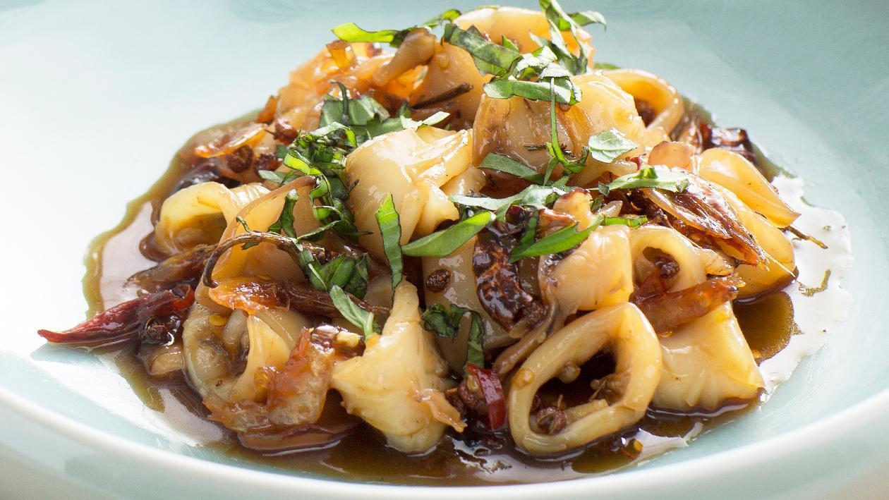 Sichuan Style Spicy Squid