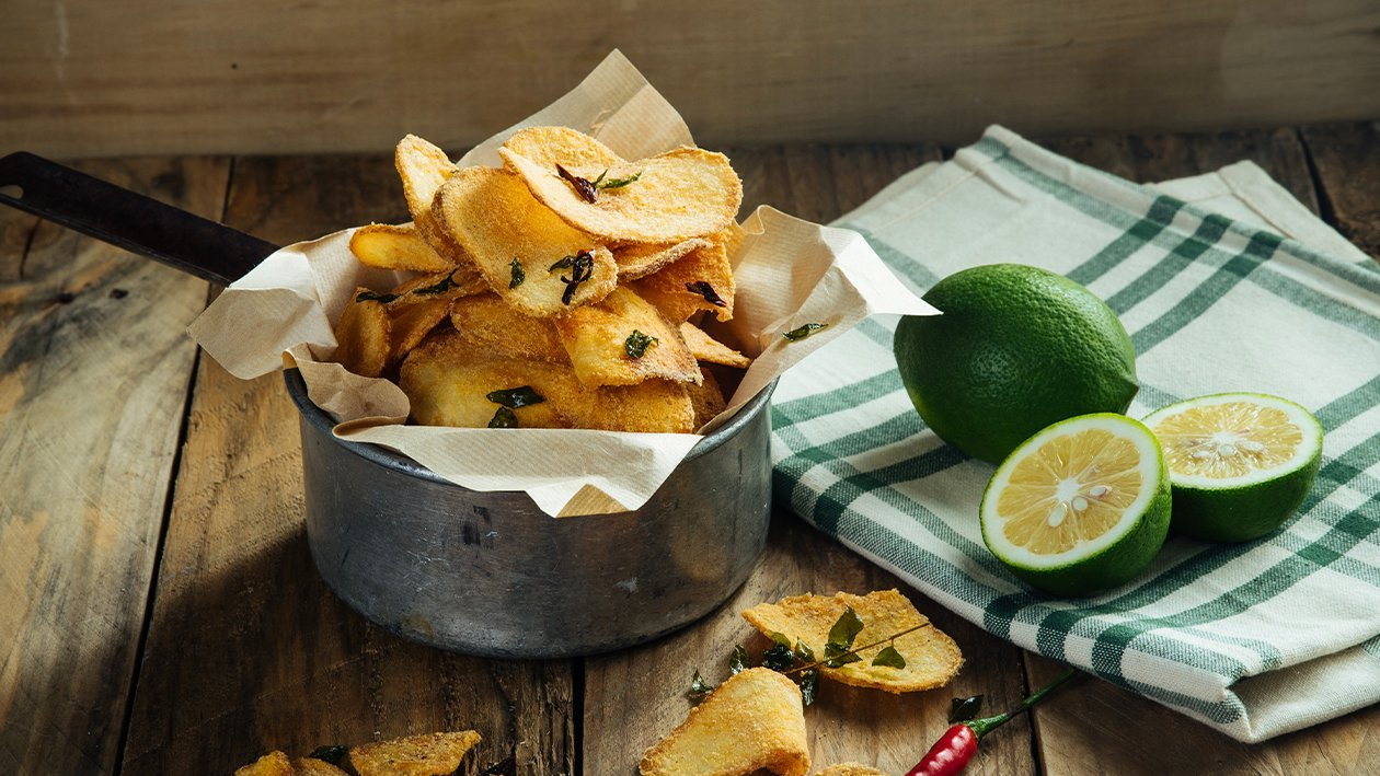 Spicy Lime Salted Egg Chips