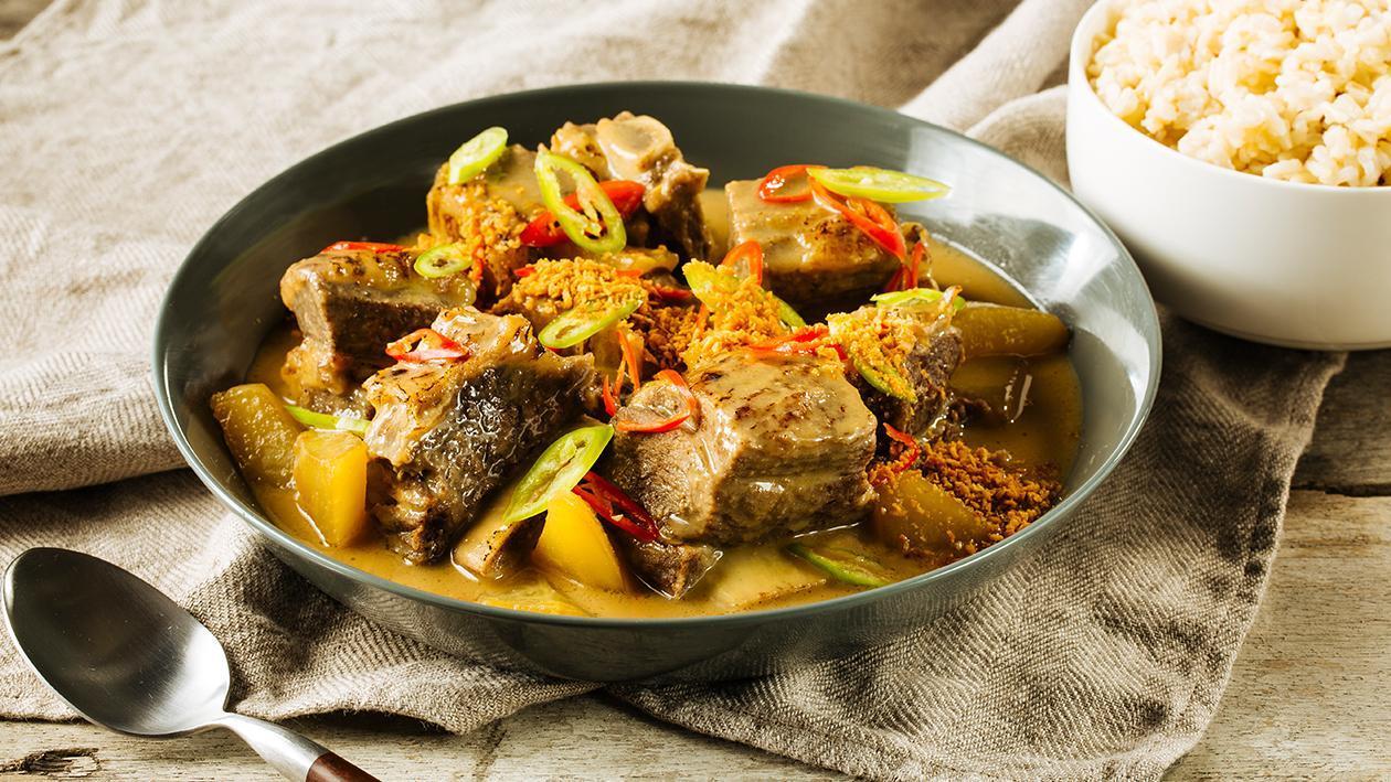 Tinutong na Baka (Crispy Beef)
