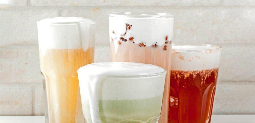 Tropical Berry Cold Tea with Milk Cap Recipe