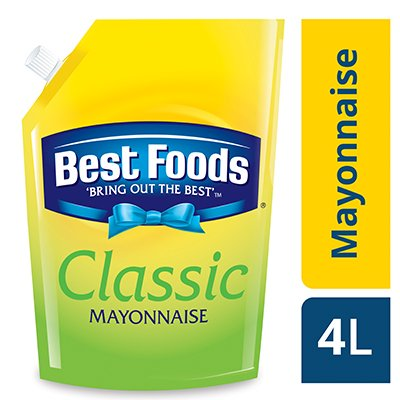 Best Foods Classic Mayonnaise (4x4L) -
