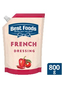 Best Foods French Dressing (12X800ml)