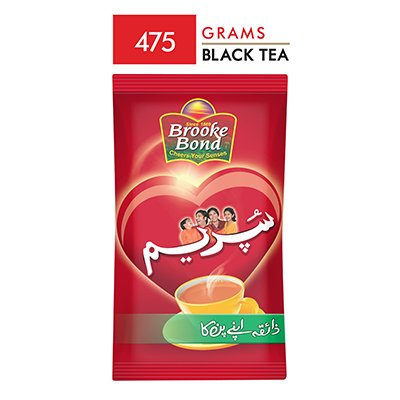 Brooke Bond Supreme Packet Tea (475gm)