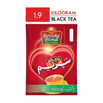 Brooke Bond Supreme Packet Tea (6x1900gm) -
