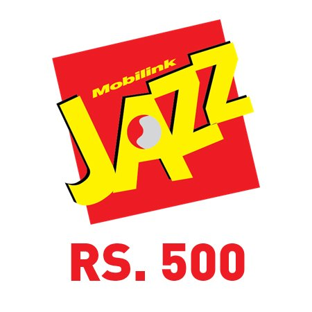 Jazz Mobile card (Rs. 500)