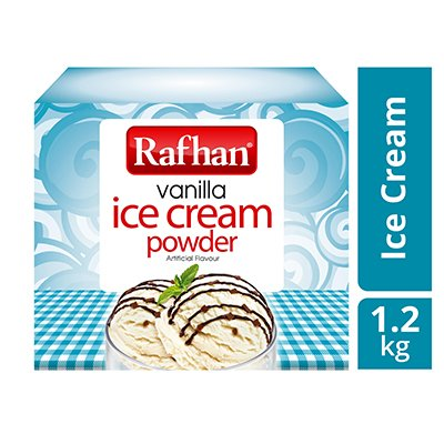Rafhan Vanilla Ice Cream Powder (6x1.2kg) -