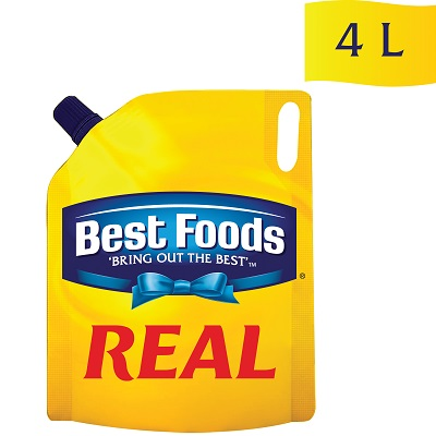 Best Foods Real (4x4L) - Our quality mayonnaise brings out the best in all your dishes