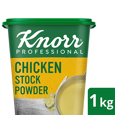 Knorr Professional Chicken Stock Powder (6x1kg) - Knorr Professional Chicken Stock Powder is made with real chicken that delivers the natural taste and aroma to your dish, every time.