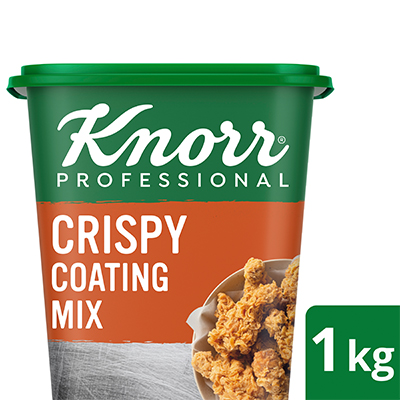 Knorr Professional Crispy Coating Mix (6X1kg) - Knorr Professional Crispy Coating Mix delivers consistently delicious fried chicken, 3x crispier than scratch.