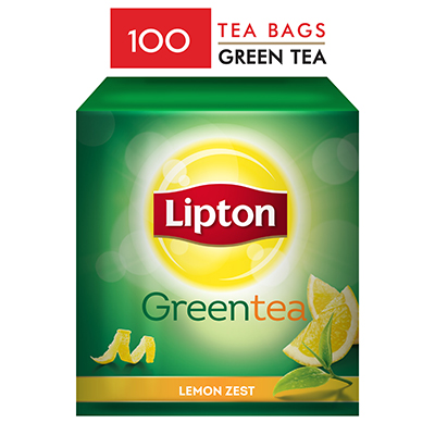 Lipton Green Tea Lemon (100 TB) - Lipton knows how to create that