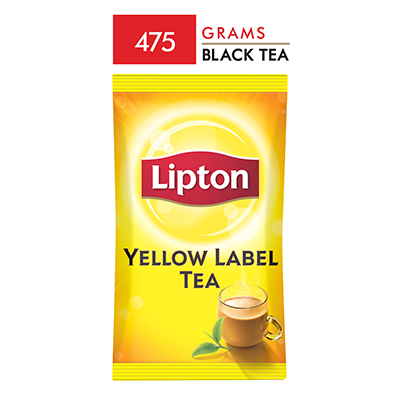 Lipton Yellow Label Packet Tea 475 gm