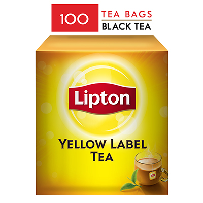 Lipton Yellow Label Tea Bags (20x100TB) - Lipton knows how to create that