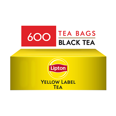 Lipton Yellow Label Teabags (1x600TB) - Lipton knows how to create that