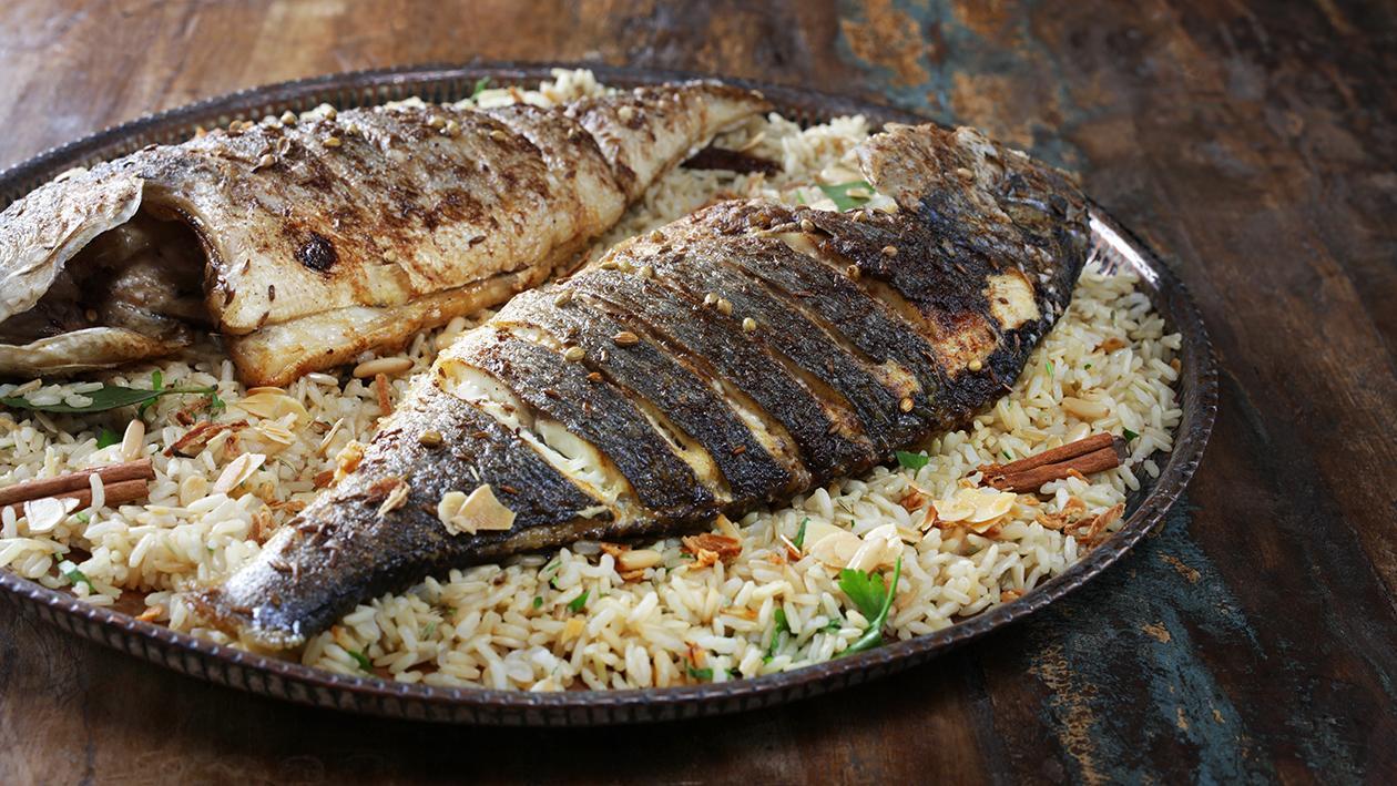 Baked Fish Pilau