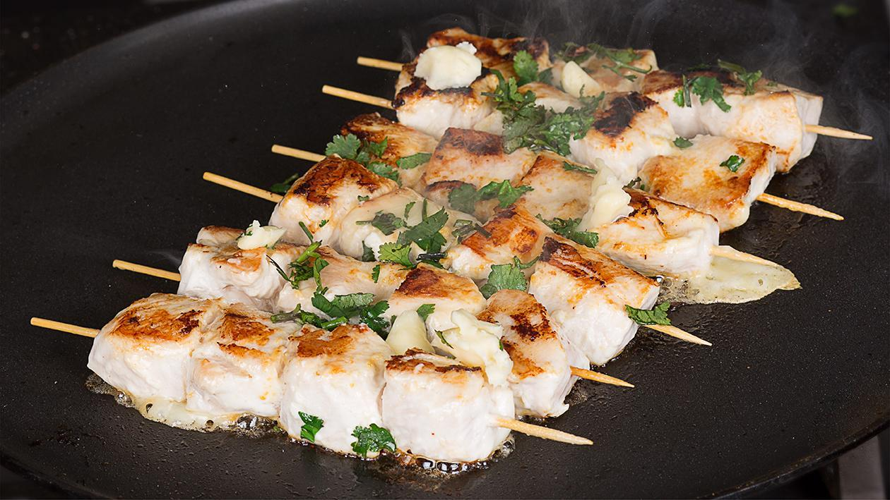 Chicken Malay Skewers