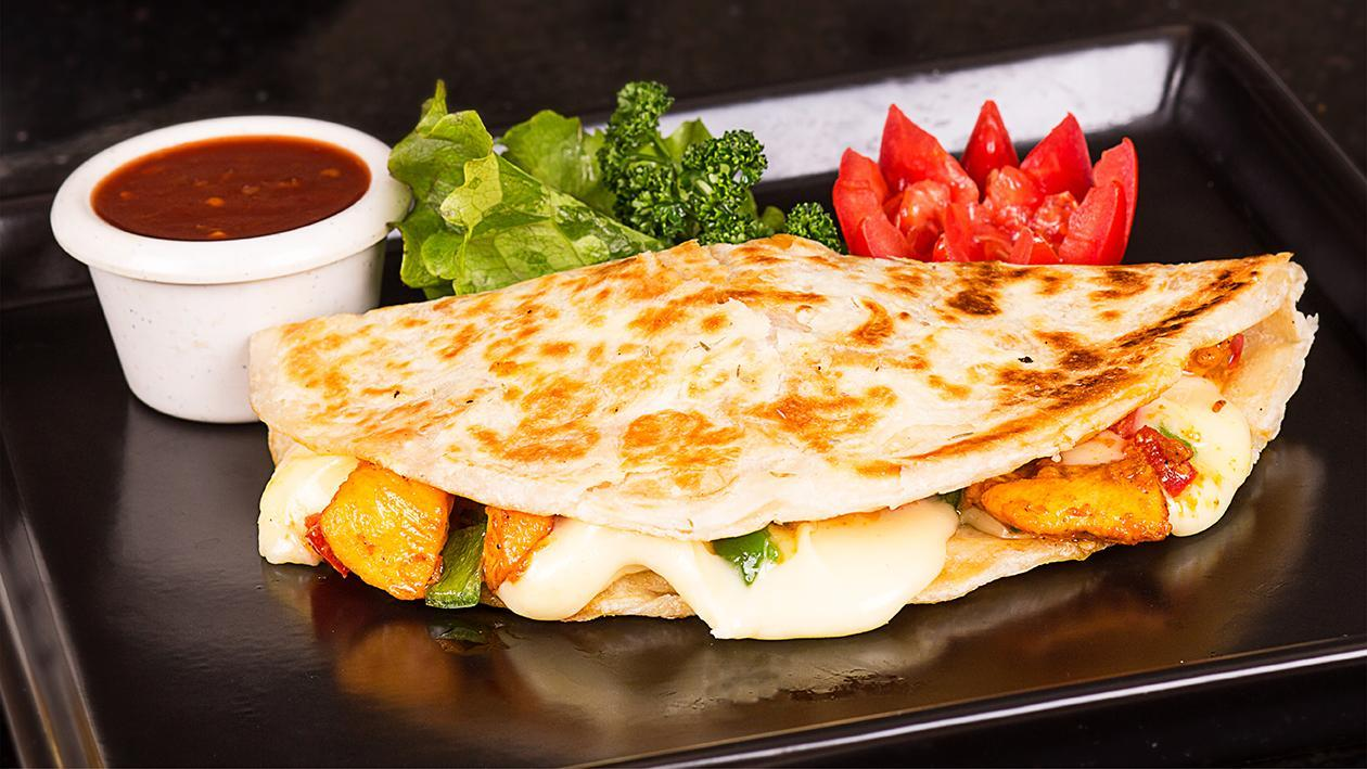 Chicken Paratha Turnover