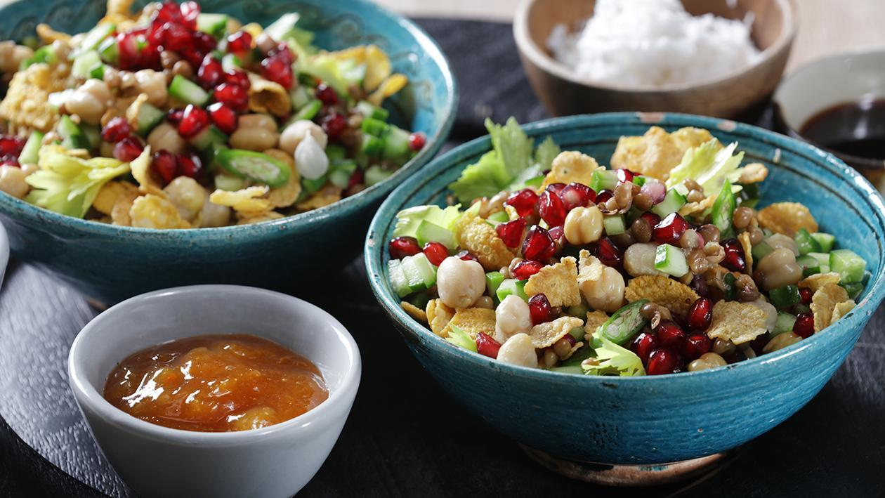 Chickpea Breakfast Salad