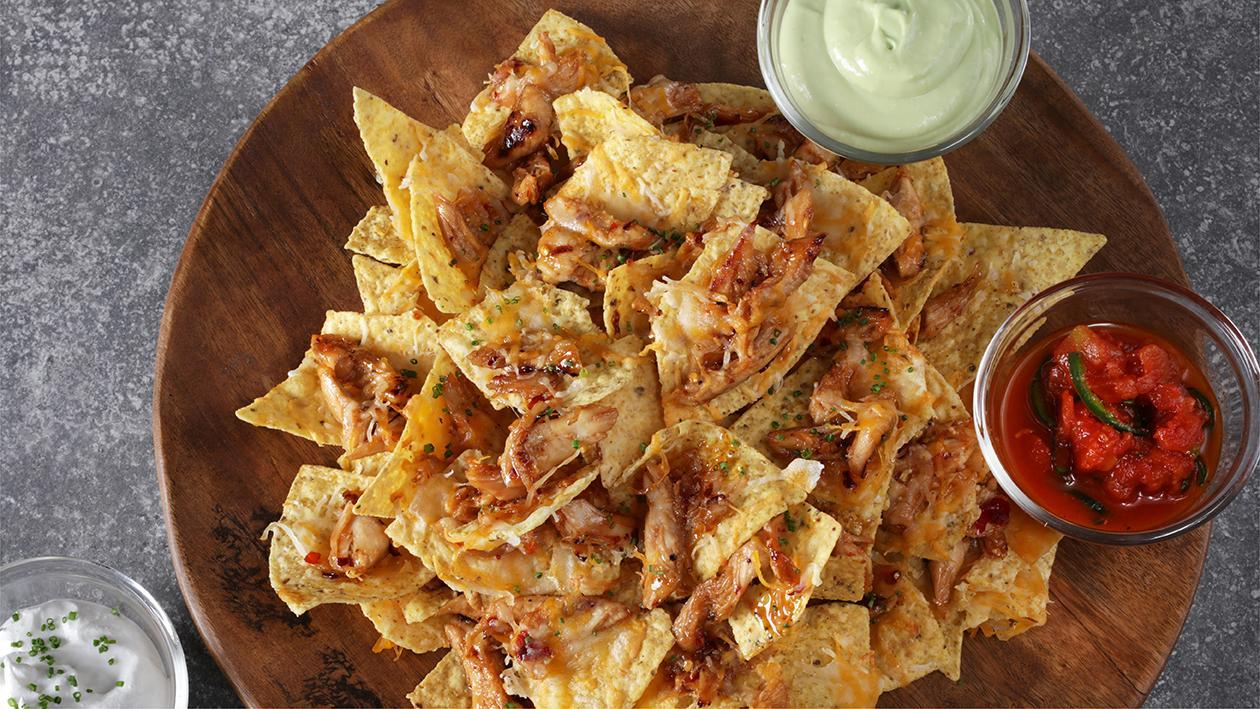 Firecracker Chicken Nacho's