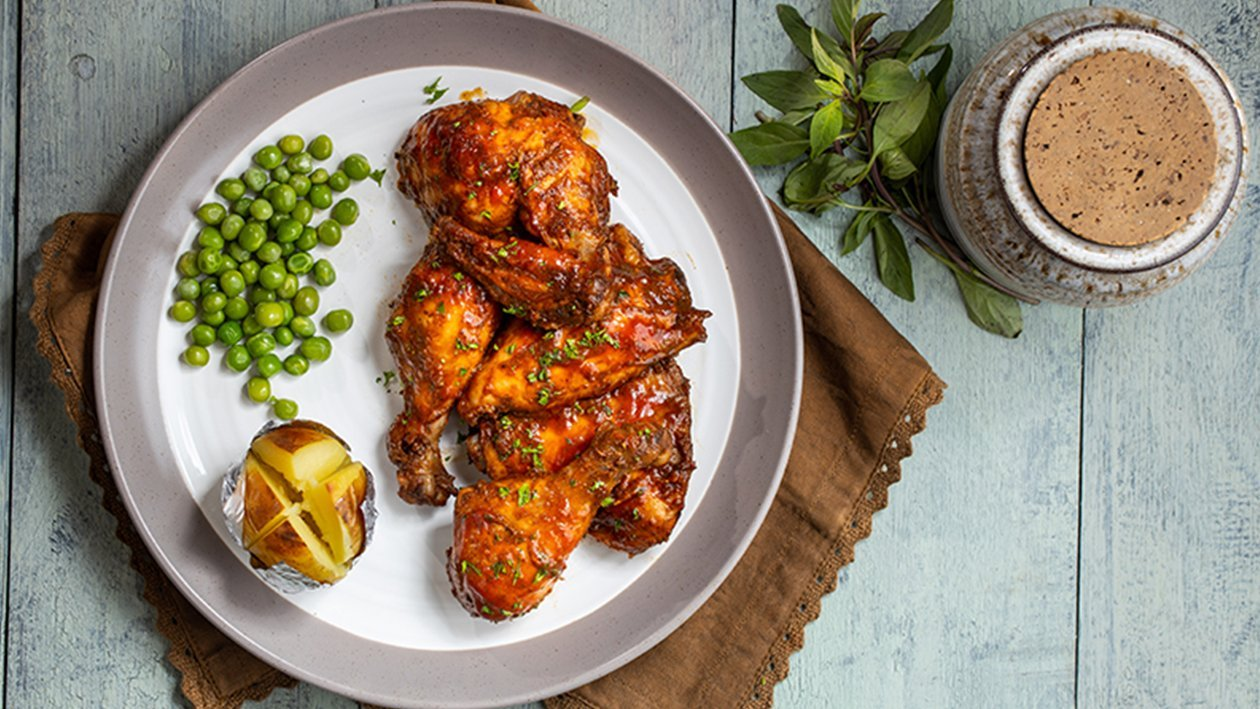 Jamaican Style Roasted Chicken