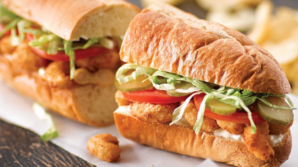 New Orleans Shrimp Po' Boy