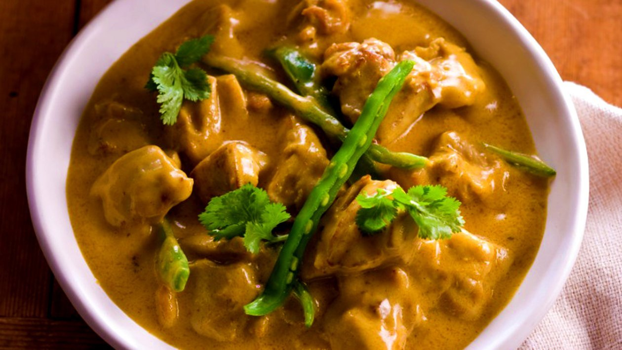 Spiced Coconut Lime Chicken Curry
