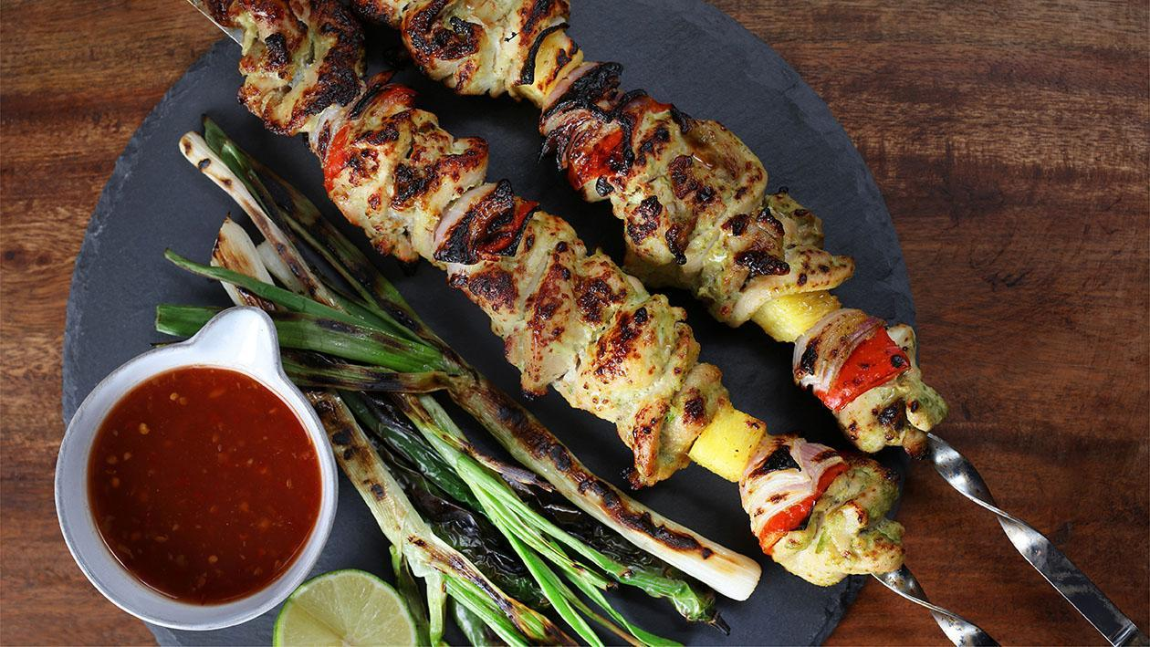 Thai Chicken Seekh Kabab