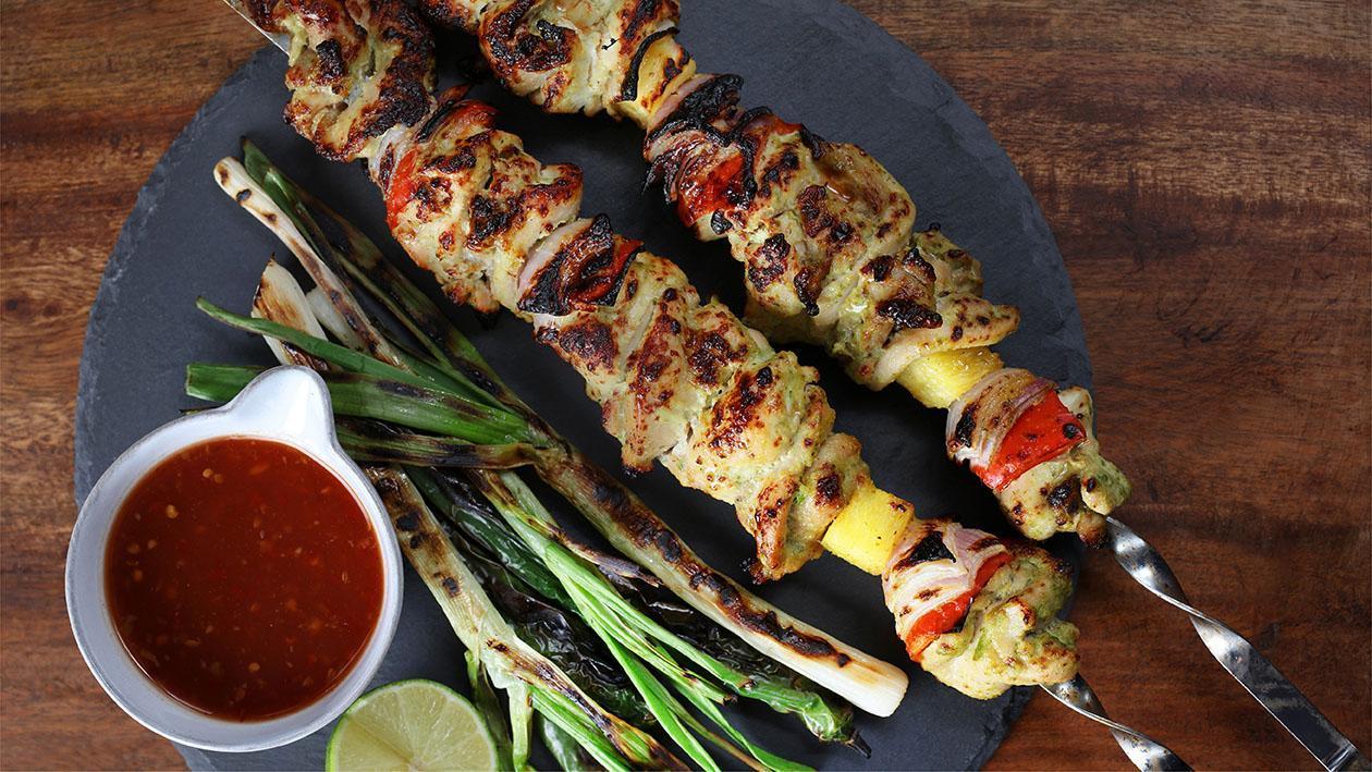 Thai Chicken Seekh Kabab
