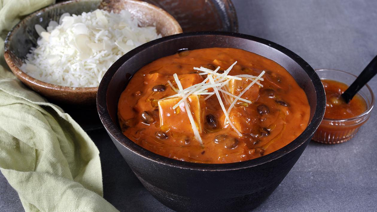 Tofu Black Bean Tikka Masala