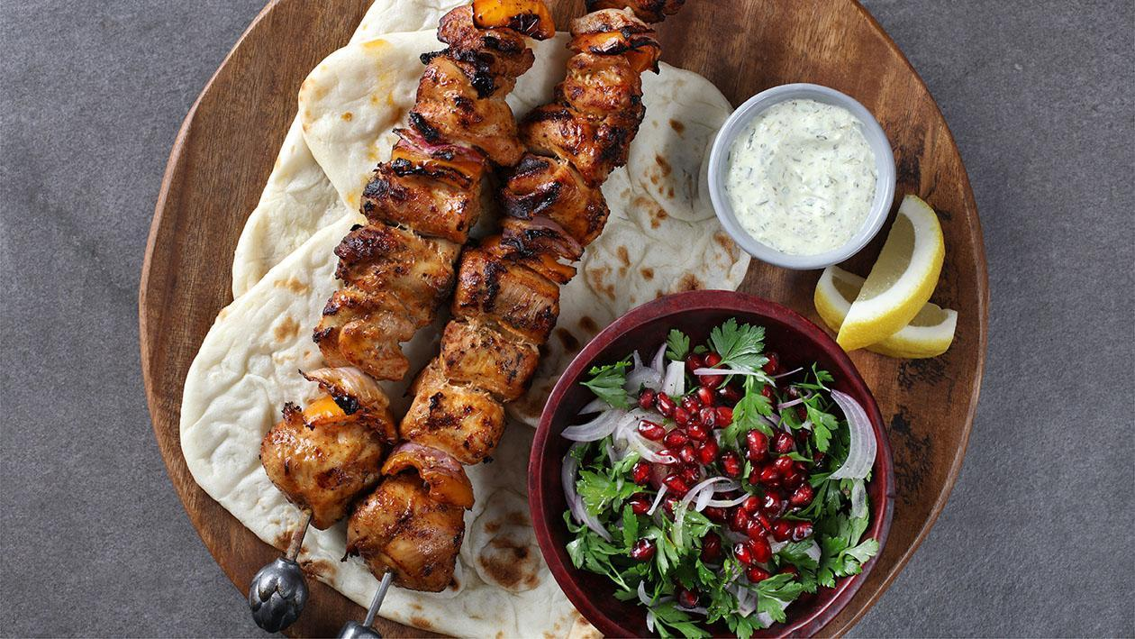 Turkish Chicken Seekh Kabab