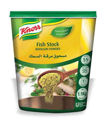 Knorr Fish Stock Powder (6x1100g) | Unilever Food Solutions