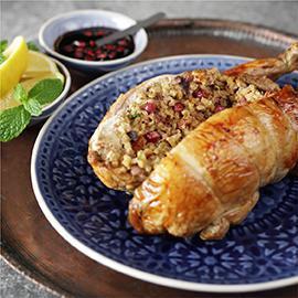 Arabian Stuffed Chicken