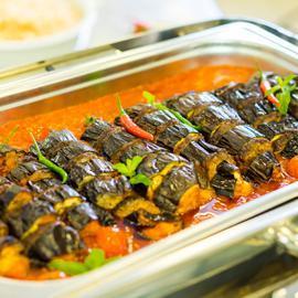 BBQ Eggplant Kabab