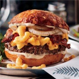 Big Mac & Cheese Burger