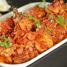 Tuscan Chicken Tomato Roast