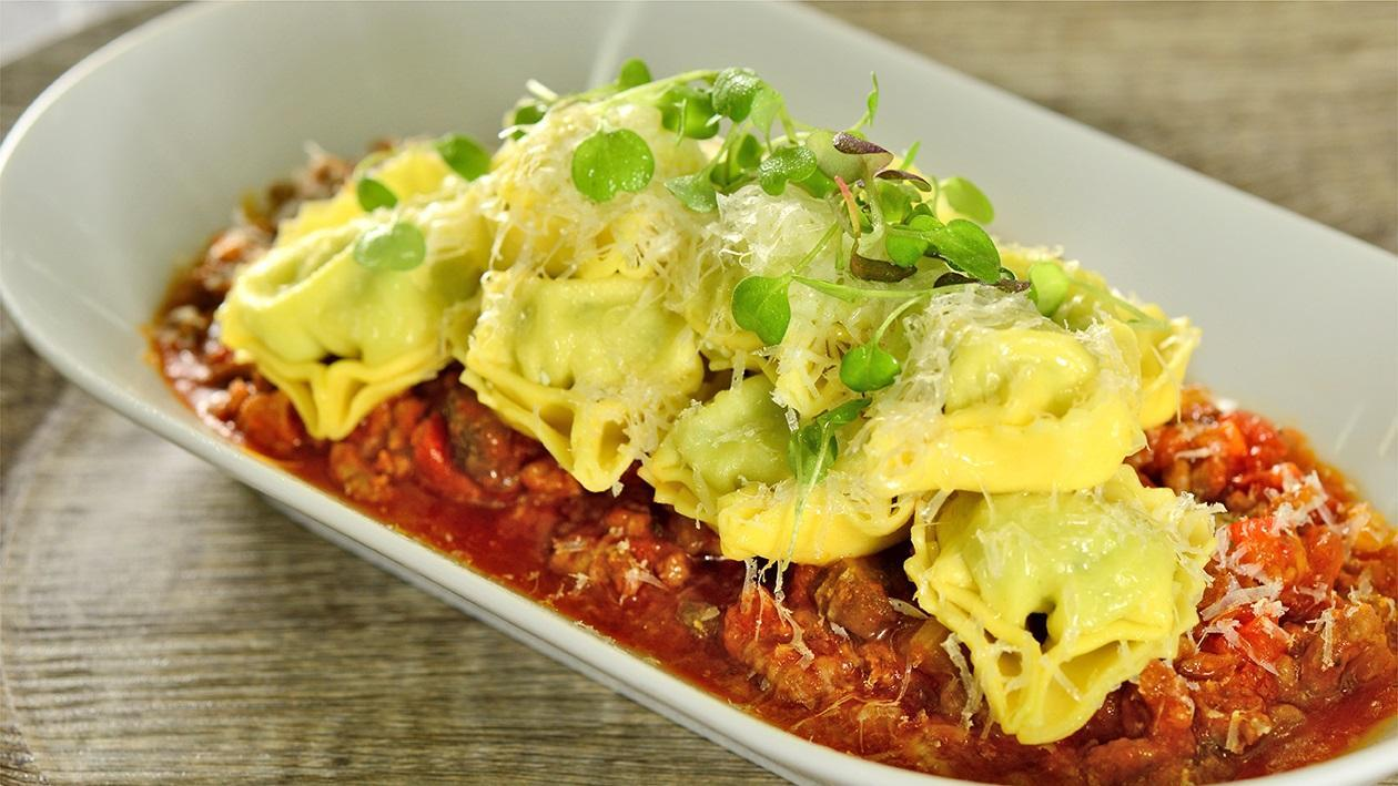 3 Cheese Tortellini Bolognaise Sauce Recipe