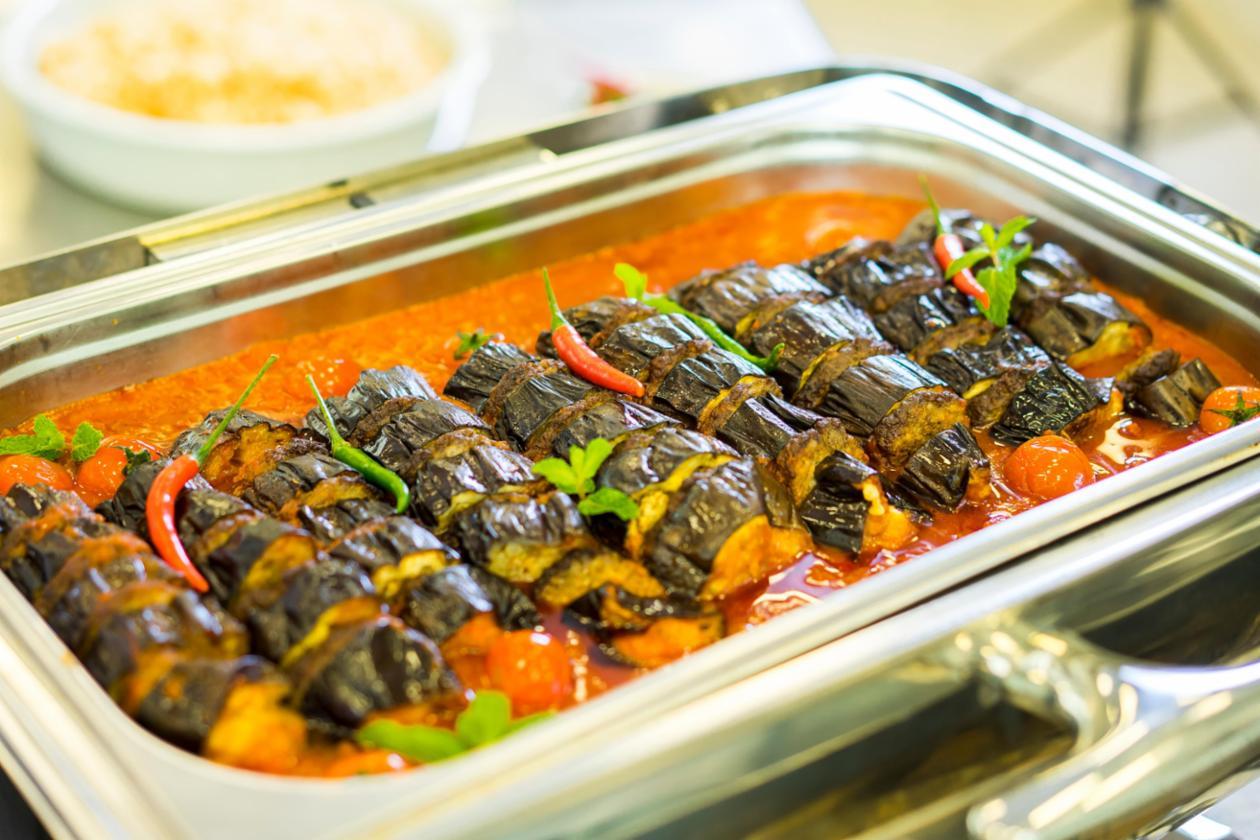 BBQ Eggplant Kebab