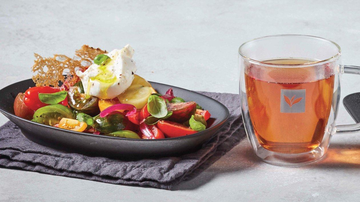 Burrata & Heirloom Tomato Salad Recipe