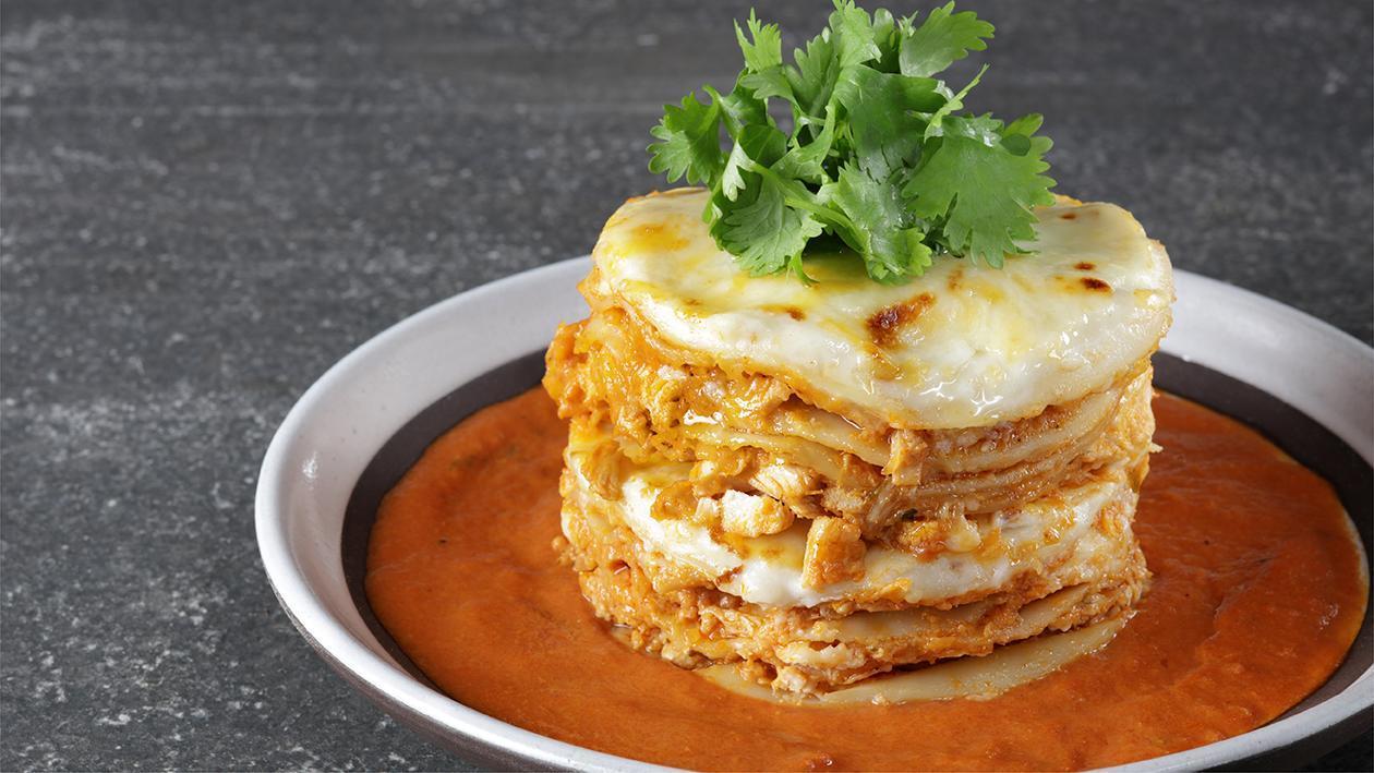 Butter Chicken Lasagna