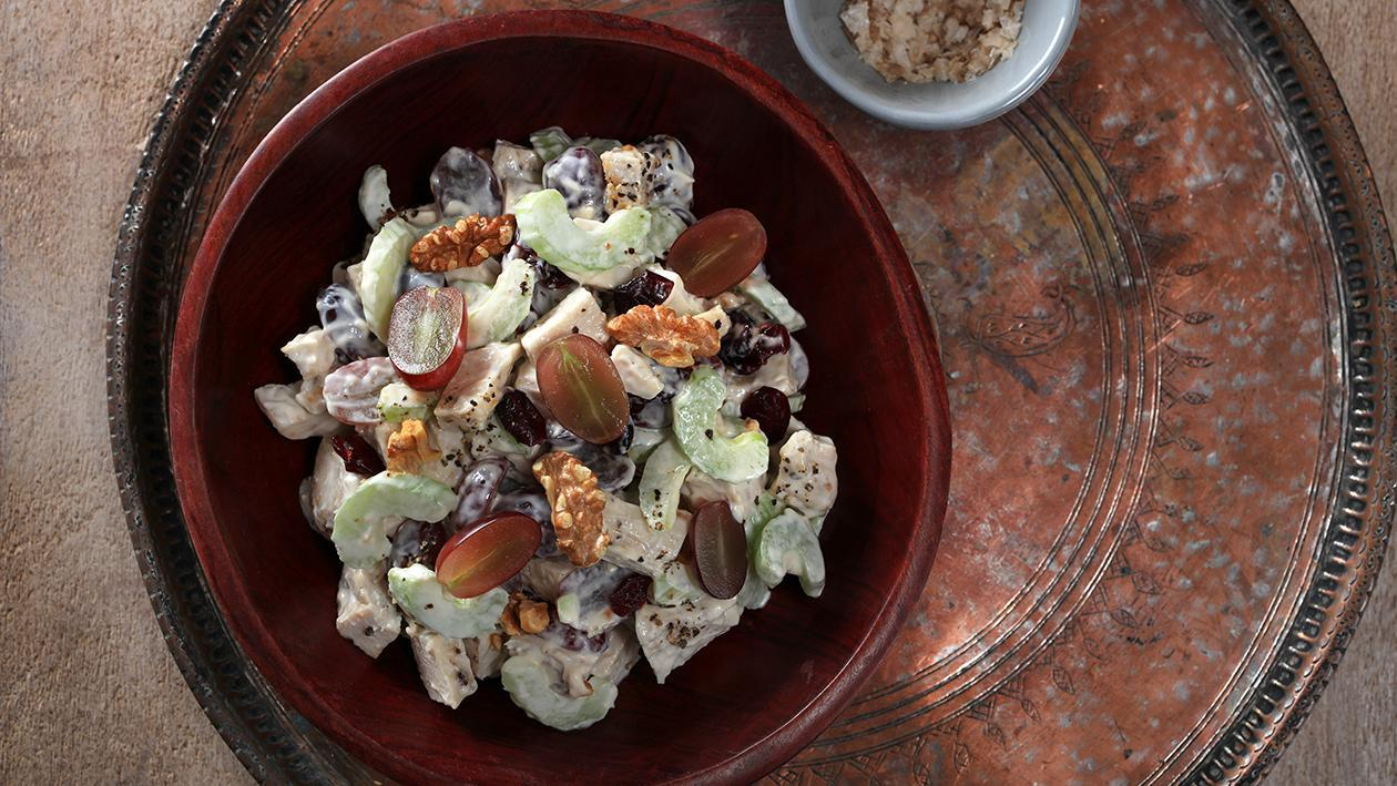 Chicken & Grape Salad (with Roasted Nuts)
