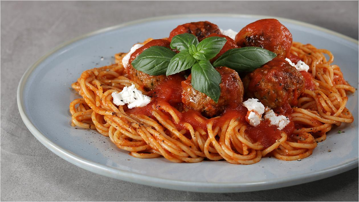 Classic Meatball Bolognese
